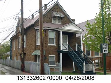 An image related to this building permit, created by Cook County Assessor
