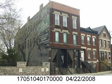 Photo of the property at 1525 N Elston Ave with Property Index Number (PIN) 17051040170000 taken by the Cook County Assessor