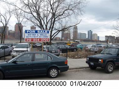 Photo of the property at 837 S Wells St with Property Index Number (PIN) 17164100060000 taken by the Cook County Assessor