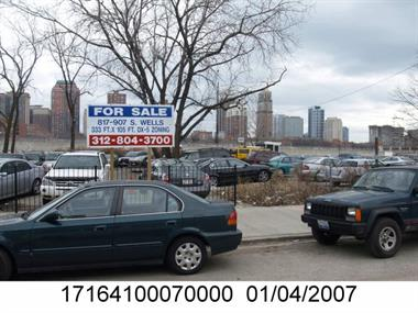Photo of the property at 837 S Wells St with Property Index Number (PIN) 17164100070000 taken by the Cook County Assessor